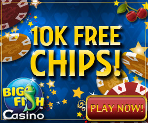 Earning free chips big fish blog for Gold fish casino promo codes