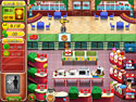 Burger Bustle: Ellie's Organics Game screenshot 1 - click for larger view