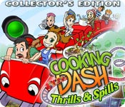 Cooking Dash 3: Thrills and Spills Collector's Edition Game - Free Cooking Dash 3: Thrills and Spills Collector's Edition Game Download