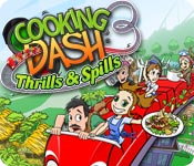 Cooking Dash 3: Thrills and Spills Mac Game - Free Cooking Dash 3: Thrills and Spills Game for Mac Download