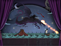 Drawn Dark Flight Game screenshot 3 - click for larger view
