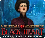 Nightfall Mysteries: Black Heart Collector's Edition Game - Play Nightfall Mysteries: Black Heart Collector's Edition Game Download Free