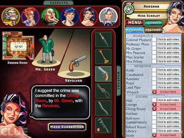 cluedo play clue online free no download