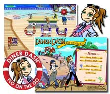 Diner Dash 3 Flo on the Go Mac Game - Free Diner Dash 3 Mac Game Downloads