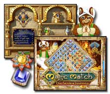 Magic Match The Genie's Journey Game - Free Magic Match 2 Downloads