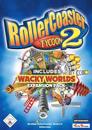 Roller Coaster Tycoon 2 & Wacky Worlds Pack Game - Free Roller Coaster Tycoon 2 Downloads