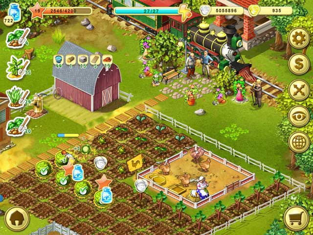 Farm Up Free to Play Game|Play Free Download Games|Ozzoom
