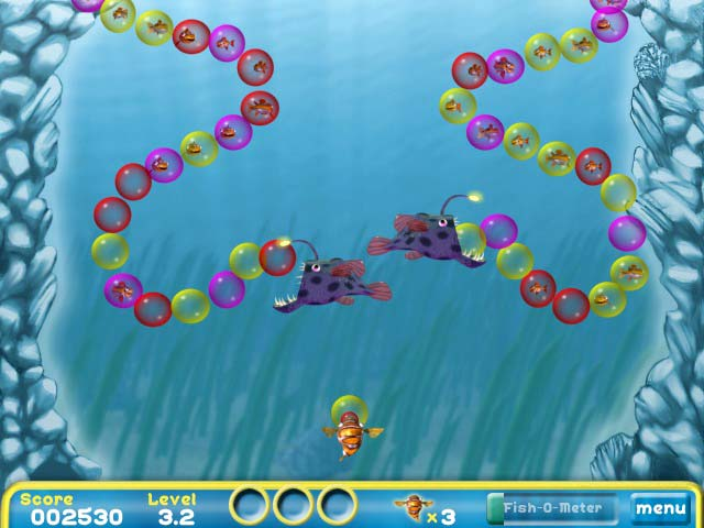 Bubblefish bob game play online games free ozzoom games for Bubble fish game