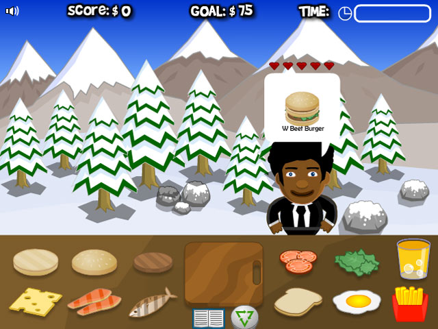 Burger Jam Game|Play Online Games Free |Ozzoom Games
