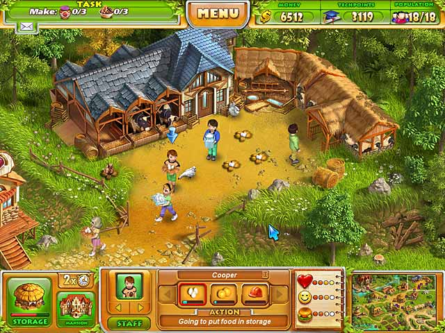 Farm Tribe 2 Game Play Free Download Games Ozzoom Games