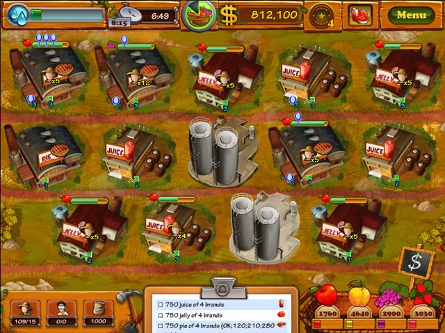 Fruits Inc. Game|Play Online Games Free |Ozzoom Games