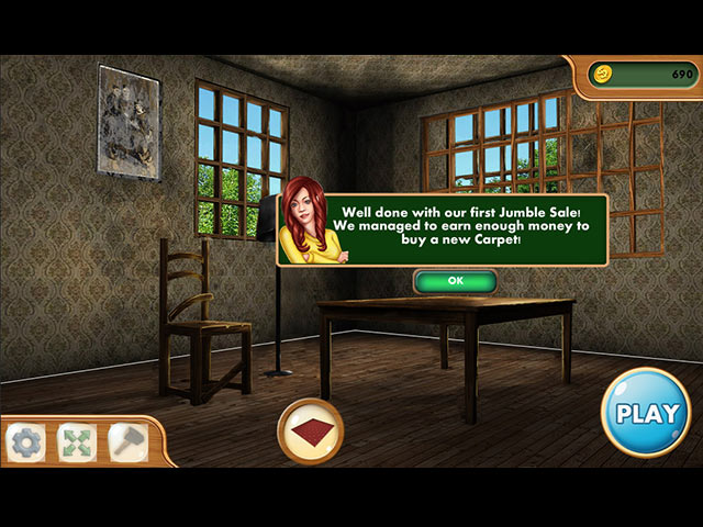 hidden object  home makeover game