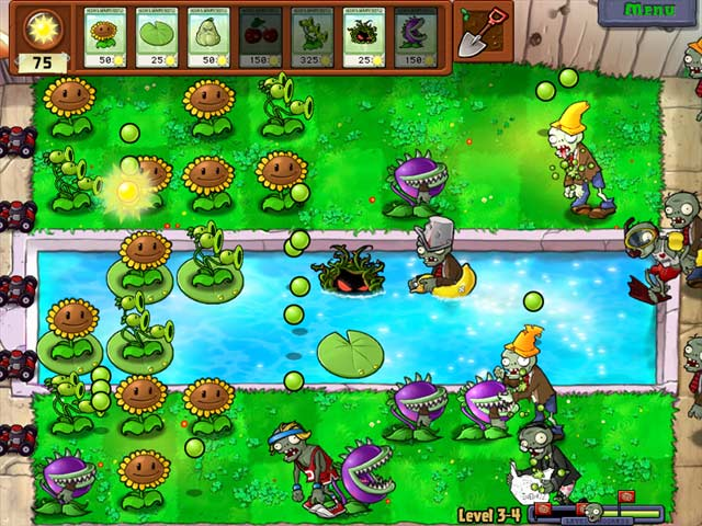 play plant vs zombies online