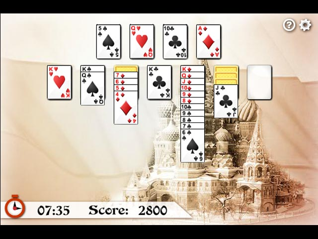 Russian solitaire online
