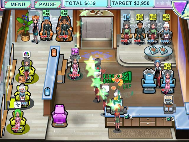 Sally 39 s salon game play free download games ozzoom games for Salon games free download