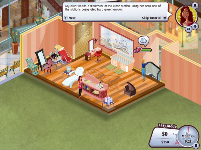 Sara 39 s super spa deluxe game play free download games for Salon games free download