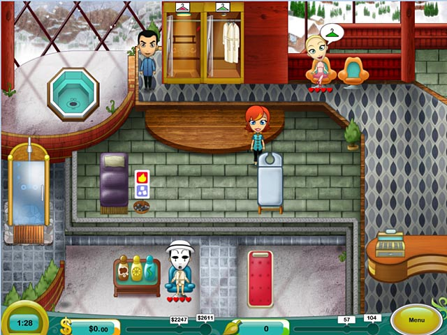 Spa mania 2 game for mac play free download games ozzoom for Salon games free download