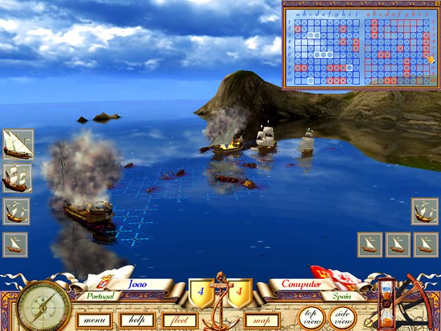 The Great Sea Battle: The Game of Battleship Game|Play Free ...