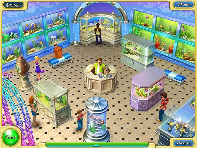 Tropical fish shop 2 game play online games free ozzoom for Online fishing store
