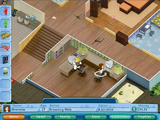 Virtual Families GamePlay Free Download GamesOzzoom