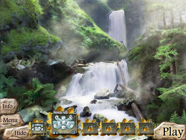Waterscape Solitaire American Falls Game Play Free